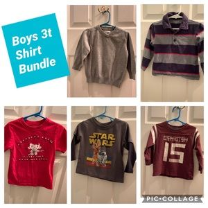 Boys 3t Shirt Bundle